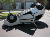 La mayor parte de las víctimas mortales por accidente de circulación se producen en... 1