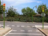En esta situación, ¿qué debe hacer si va a girar a la izquierda? 1