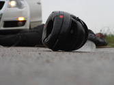 A un motorista herido en accidente, ¿debe quitarle el casco? 1