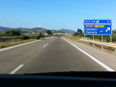 ¿Está permitido realizar una parada en una autovía o autopista? 1