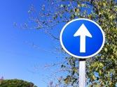 Esta señal indica dirección y sentido... 1