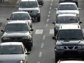En vías con tráfico denso, ¿se puede hacer uso del claxon? 1