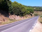 En esta carretera convencional, ¿a qué velocidad máxima puede adelantar un turismo? 1