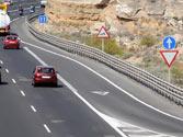 En un carril de aceleración, ¿dónde hay que detenerse para ceder el paso en caso necesario? 1
