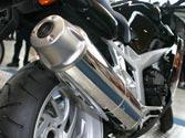 Para evitar la contaminación acústica, es aconsejable que los conductores de motocicletas... 1