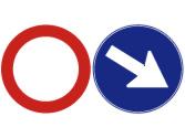 Cuando encuentre estas señales, ¿qué debe hacer? 1