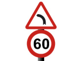 ¿Puede rebasar la velocidad máxima indicada en la señal? 1