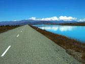 En este tramo de carretera, ¿está permitido hacer un cambio de sentido? 1