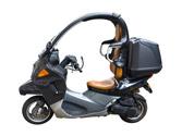 Si su motocicleta lleva instalado cinturón de seguridad, ¿cuándo debe utilizarlo? 1