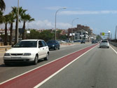 En una travesía sin señales de velocidad, ¿cuál es la velocidad máxima permitida? 1