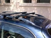 Cuando no utiliza la baca del vehículo, ¿es aconsejable quitarla? 1