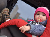 La colocación de los dispositivos de retención infantil resulta más segura en... 1