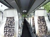 En un autobús cuyos asientos disponen de cinturón de seguridad es obligatorio que lo utilicen... 1