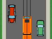 A la vista del gráfico, ¿es obligatorio adelantar al tranvía por la derecha? 1