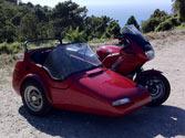 El permiso de conducción de la clase A1, ¿autoriza a conducir motocicletas con sidecar? 1