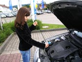 El nivel de aceite del motor, ¿cómo se debe comprobar? 1