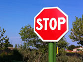 Ante esta señal, ¿qué se debe hacer? 1