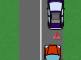 En esta situación, ¿el vehículo rojo puede adelantar al vehículo inmovilizado? 1