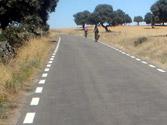 En esta vía, ¿por dónde debe circular un ciclomotor? 1