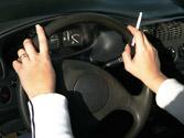 Los accidentes debidos a distracciones suceden más... 1