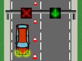 La flecha verde del semáforo de carril, ¿qué indica? 1