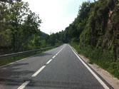 ¿A qué velocidad máxima puede circular una motocicleta por esta carretera convencional? 1