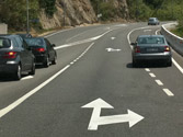 Un desplazamiento lateral, ¿cómo debe señalizarse? 1