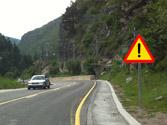 La señal de la derecha indica... 1