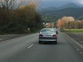Una autocaravana de 3600 kg de MMA, ¿a qué velocidad máxima puede circular por esta carretera convencional? 1