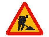 Es obligatorio que las obras que dificulten la circulación estén señalizadas... 2