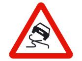 Esta señal indica peligro por... 2