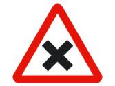 En esta vía de doble sentido, el vehículo rojo, ¿adelanta correctamente? 2