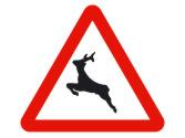 Los animales tienen preferencia de paso en el lugar indicado con... 3