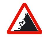 La señal advierte peligro por... 2