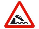 Esta señal indica peligro ante la proximidad... 4