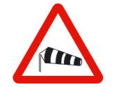 Si sopla un fuerte viento lateral de la izquierda, los conductores de turismos deberán... 1