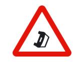 Esta señal de advertencia de peligro indica la proximidad de... 3
