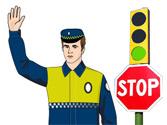 A la vista de esta imagen, ¿qué debe hacer el conductor del vehículo? 1
