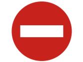 La señal prohíbe la entrada a... 2