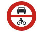 La señal prohíbe la entrada a... 1