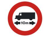 ¿A qué vehículos prohíbe pasar esta señal? 3