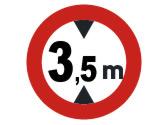 ¿A qué vehículos prohíbe pasar esta señal? 1
