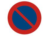 Entre otros lugares, ¿dónde está prohibido estacionar en zona urbana? 1
