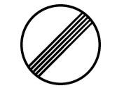 Esta señal indica el lugar a partir del cual... 1