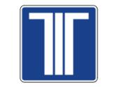 Esta señal situada sobre un carril de un puesto de peaje indica que en él... 1