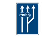 Circula a 60 km/h. ¿Por qué carril debe circular? 1