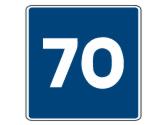 Esta señal indica la velocidad... 3